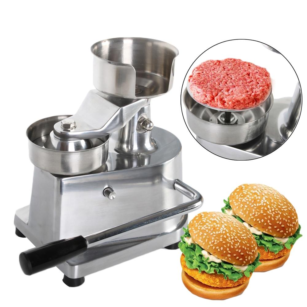 Hot البيع همبرغر مطرقة لحم برغر آلة سبائك الألومنيوم همبرغر صانع باتيه 100 مللي متر/130 مللي متر القطر