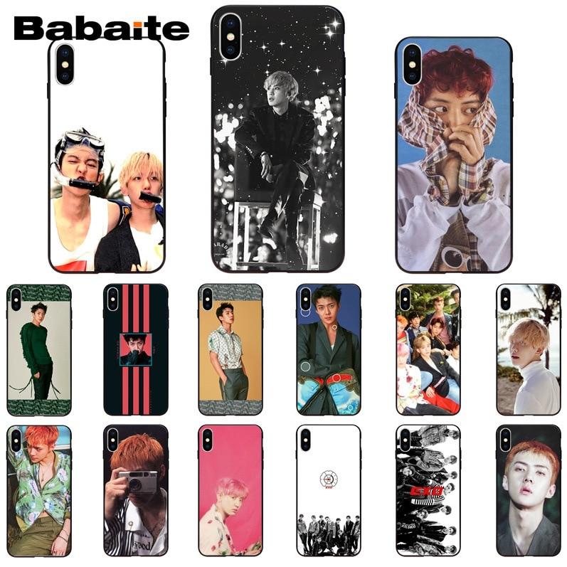 Babaite SEHUN youngjae got 7 cliente funda de teléfono de alta calidad para iPhone6S 6plus 7 7plus 8 8 X XsMAX 5 5S XR 11 11pro 11promax