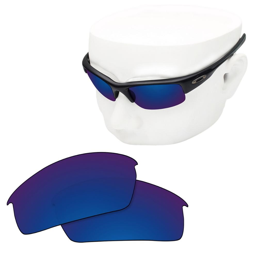 OOWLIT Polarized Replacement Lenses of Deep Water for-Oakley Bottlecap Sunglasses