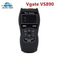 OBD2 escáner Maxiscan Vgate VS890 código de error lector Auto herramienta de diagnóstico Universal para OBD 2 OBDII VS 890 Vgate Maxiscan VS890