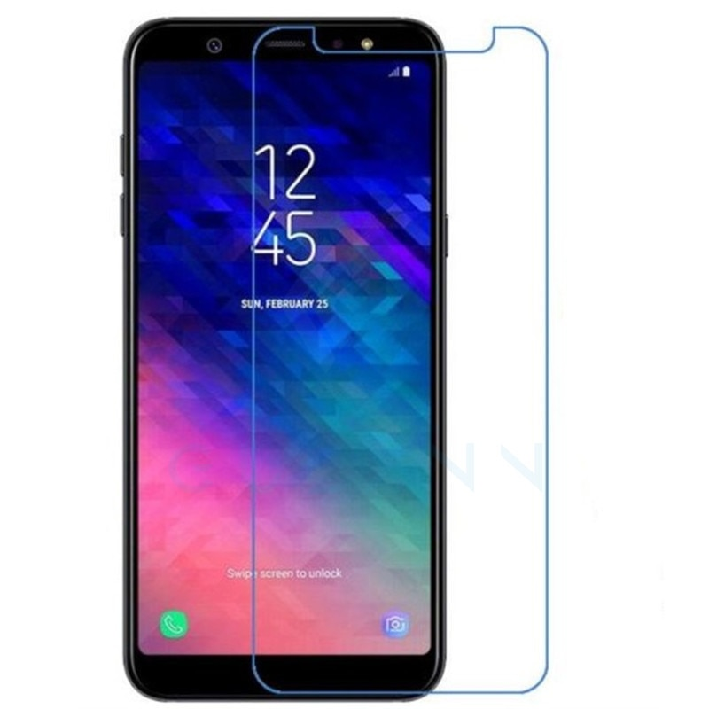 Protector de pantalla Gulymm para Samsung Galaxy A6 2018 vidrio templado Samsung A6 2018 cubierta de vidrio Samsung Galaxy A6 A 6 Plus A6Plus