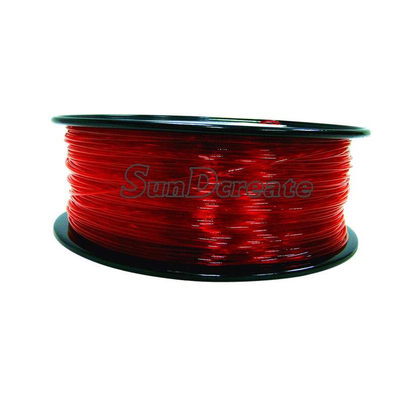¡Oferta! filamento petg de 1,75mm 1 kg, petg plástico filamento de buena calidad, filamento de impresión 3d PETG, filamento de impresora 3d de alta resistencia