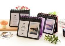 68 poches Mini Album de calendrier Photo instantanée feuille de papier Photo à faire soi-même Fujifilm Instax Mini Film 8 7s 25 50s 90 accessoires appareil Photo