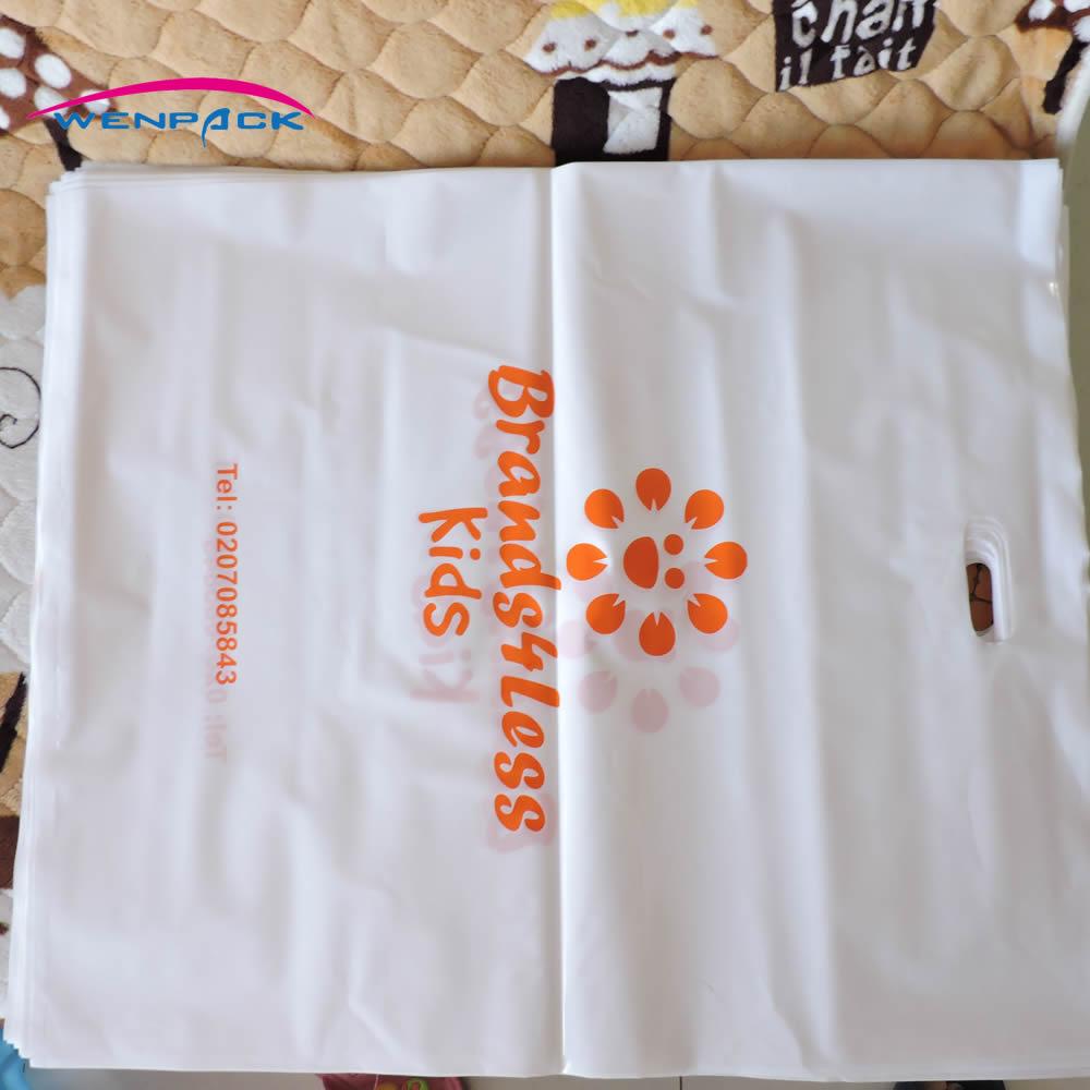 50x60 cm benutzerdefinierte print logo kunststoff geschenk-taschen für verpackung und einkaufen