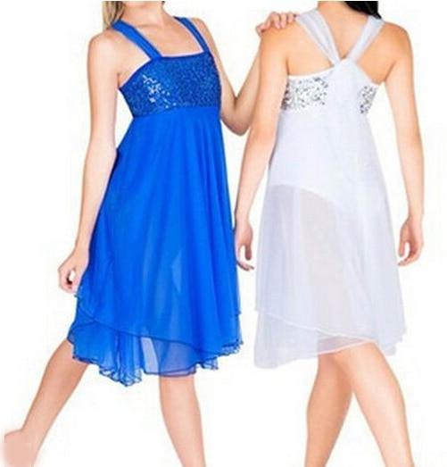 Party Wedding Long Dress Fairy Ballet Dress Bailarina Balet Professional Dance Lyrical Classical Ballet Dress
