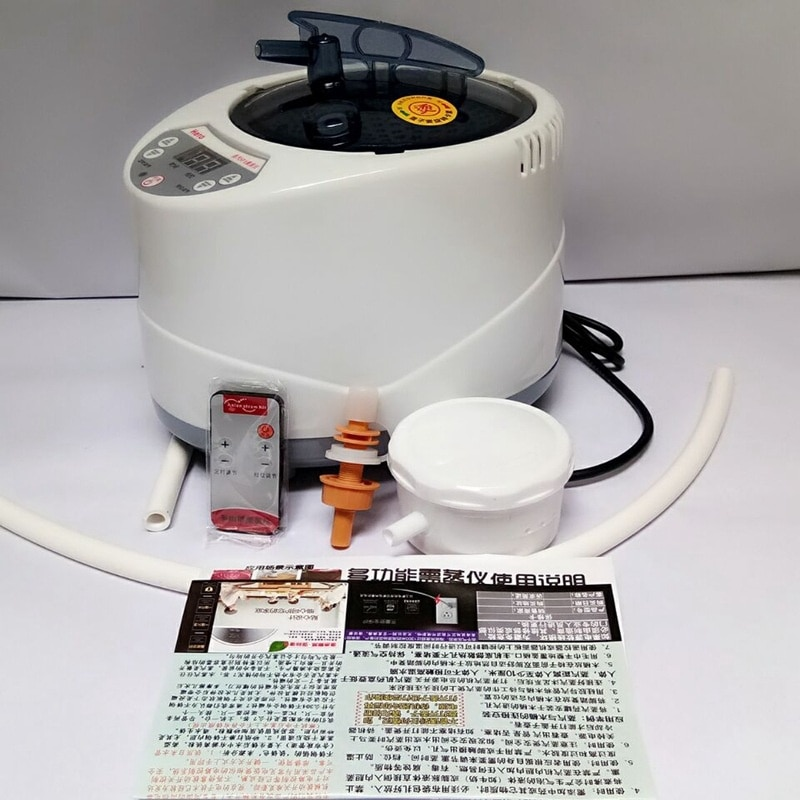 Купить с кэшбэком Portable Sauna  Personal Therapeutic Steam Sauna SPA Heater Slimming Detox EU US Plug Steam Wet Sauna Home Spa Sauna Steam Box
