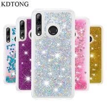 Telefon Fall Für Huawei P Smart Z Fall Abdeckung Für Huawei Y9 Prime 2019 Fall Glitter Flüssigkeit Transparent Weichen Silikon TPU Abdeckung Capa