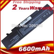 7800 mAh AA-PB9NC6B batterie dordinateur portable pour SAMSUNG R428 R429 R430 R467 R468 R528 R560 AA-PB9NC6W AA-PB9MC6W AA-PL9NC6B