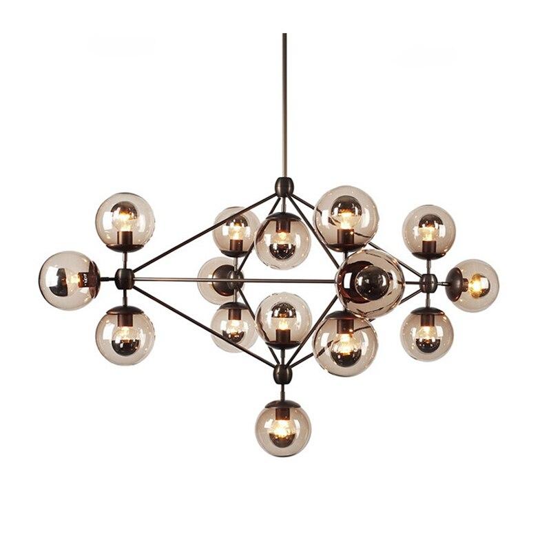 Candelabros de cristal de diseño moderno con envío gratis 10, 15,21 luces Led para vestíbulo, habitación de Hotel, lámpara de iluminación Led