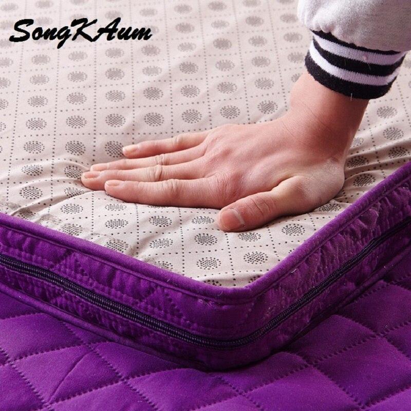SongKAum venda Quente!!! Alta Qualidade Confortável Moda Tatami Colchão Dobrável Único Ou Duplo Colchão de Espessura Quente Projeto