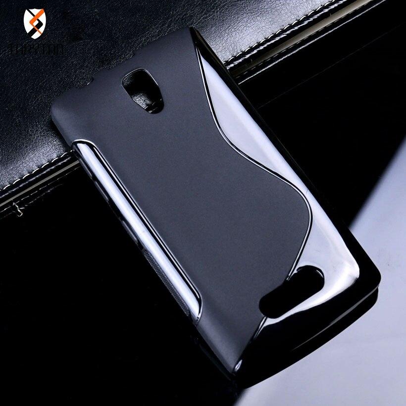 Sline Soft TPU funda para Lenovo A2010 K6 Power A319 S90 funda para Moto G4 G5 Plus X2 X Force Play fundas parachoques