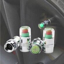 Car Auto Tire Air Pressure Valve Stem Caps Sensor Indicator Alert For Mazda 2 5 8 Mazda 3 Axela Mazda 6 Atenza CX-3 CX-4 CX-5