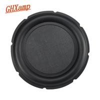 GHXAMP 10 Inch Bass Radiator Passive Loudspeaker Vibration Plate Audio Auxiliary Basin Speaker Repair Parts Rubber Edge 1pc