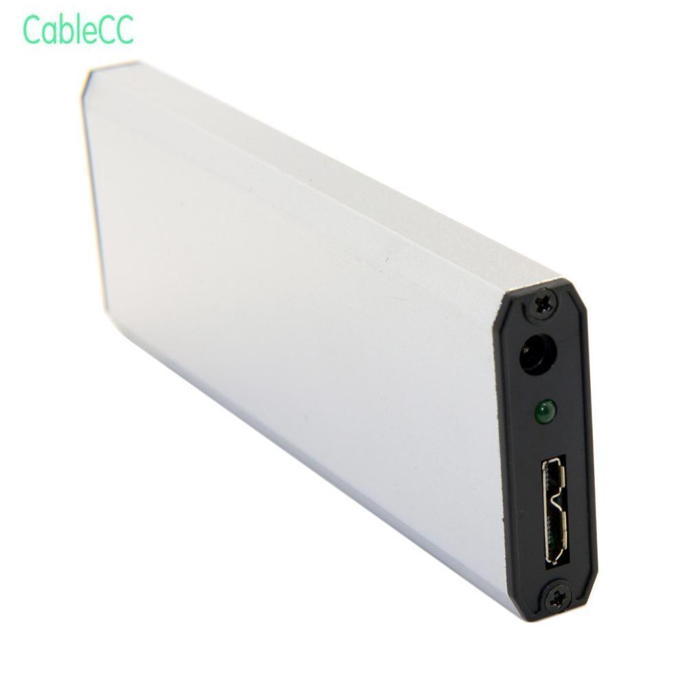 2 pcs/1 pcs USB 3.0 para SATA SSD Hard Disk Enclosure Caso Para ASUS EP121 UX21 UX31 SANDISK ADATA SSD XM11