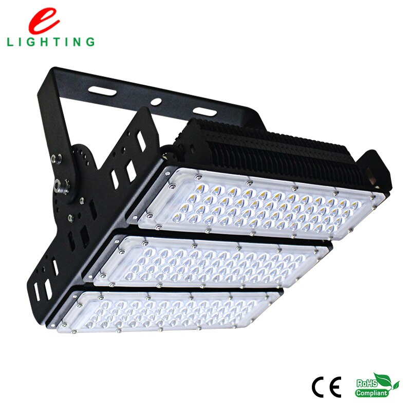 Waterproof ip65 LED floodlight 150W Meanwell driver for tennis court free shipping led lights for gerden square light