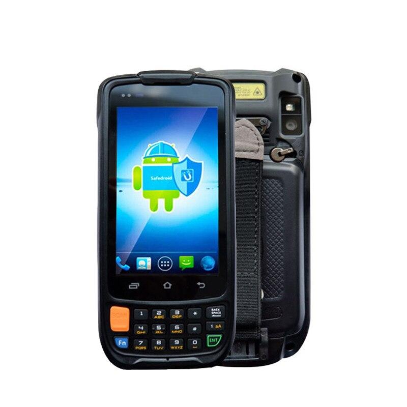 Escáner de código de barras Android 1D 2D Terminal de mano Bluetooth PDA código de barra móvil inalámbrico escáner colector de datos con cámara