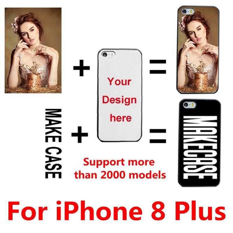 DIY personalizado foto nombre personalizar impresión de su diseño funda con imagen funda para el iPhone 8 Plus