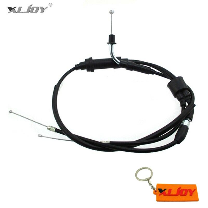 XLJOY Cable del acelerador para Yamaha PW50 Y-Zinger 1981-2009 PY50. PW PY Piwi Peewee 50 1981-2015