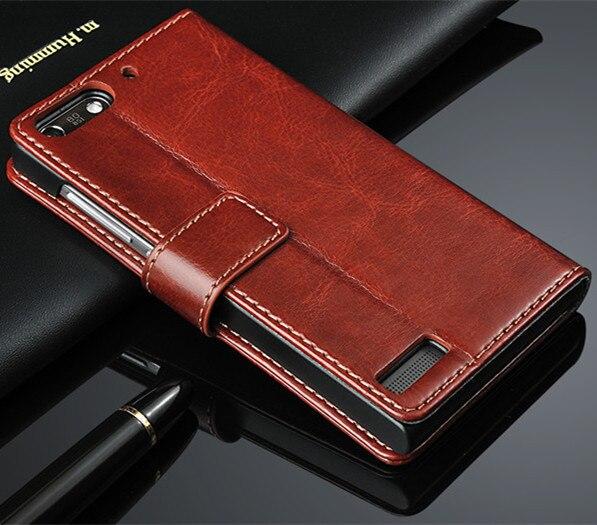Fundas para Huawei G6, funda con tapa de alta calidad, funda de piel magnética para Huawei Ascend G6 (solo para 3G Model), funda de teléfono, Capa