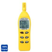 Hygromètre numérique de poche psychromètre de température et dhumidité avec ampoule humide de rosée AZ8716