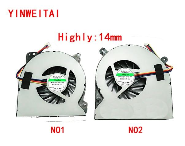 CPU и GPU вентилятор для Asus G750 G750JW G750J компьютерный вентилятор DELTA KSB0612HB-CL45 KSB0612HB CL45 12В KSB0612HB CL46 KSB0612HB-CL46