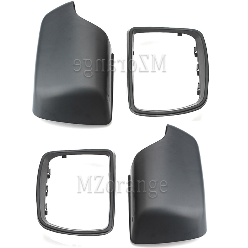 Tapa de la cubierta del espejo lateral para BMW E53 X5 2000-2006 retrovisor para retrovisor de puerta soporte embellecedor marco de la carcasa del espejo 51168256321