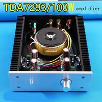 Assembled Super cooling high power TDA7293 HIFI amplifier good sound