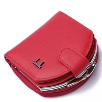 2019 fashion brand small women wallets female genuine leather womens wallet zipper design with coin purse pockets mini walet