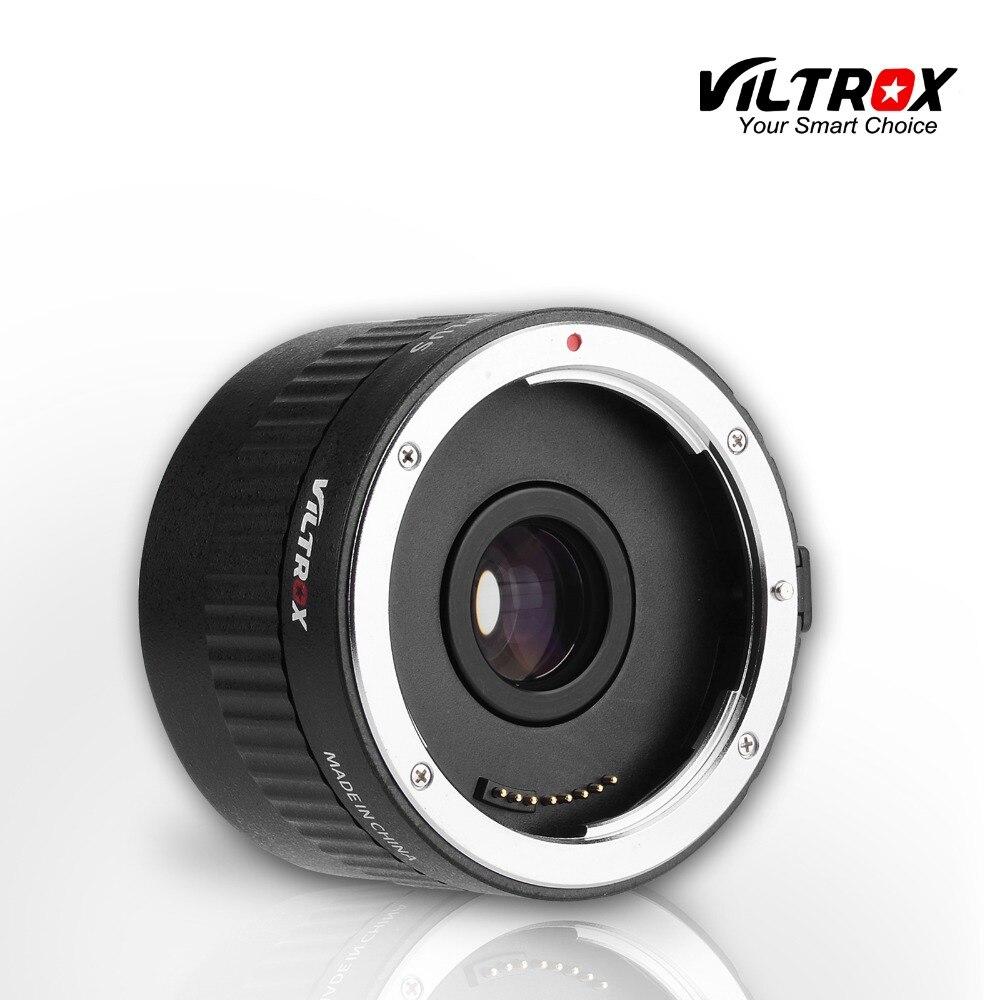 Viltrox C-AF 2X téléobjectif à mise au point automatique Teleplus convertisseur téléobjectif dextension 2.0X pour objectif Canon EOS & EF