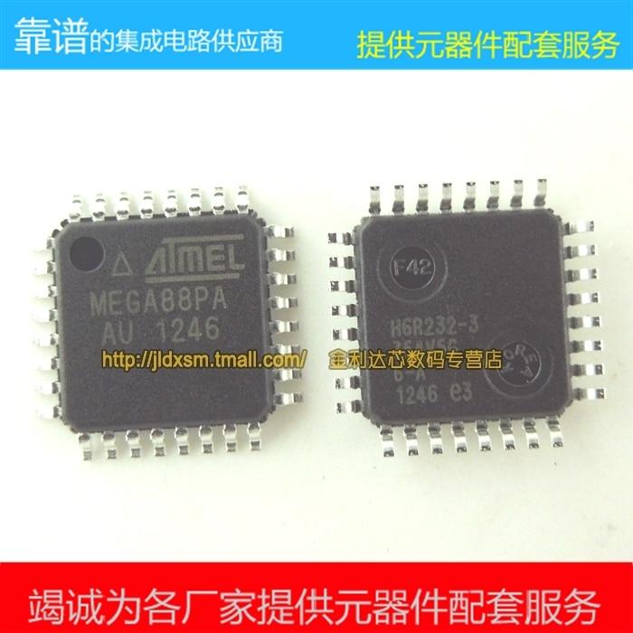 50 PCS New original ATmega88PA-AU ATmega88PA ATmega88P mega88 Frete grátis