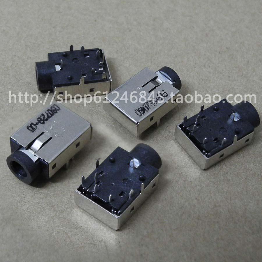 Бесплатная доставка для ASUS X44H X44L X44LY X84L K43LY аудио интерфейс Микрофон Разъем для наушников