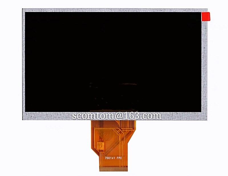 Новый 7-дюймовый AT070TN92 V.X ЖК-экран 800*480 для планшета автомобиля DVD LCD
