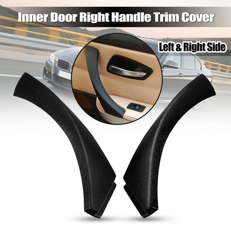 New Suitable Accessories Car Left/Right Interior Door Handle Trim Cover For BMW 3 Series E90 E91 E92 51419150335