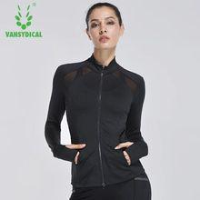 Veste de Jogging sport à manches longues, veste de course pour femme manteau chandails capuche sport Jogging entraînement chemise pour exercice Fitness