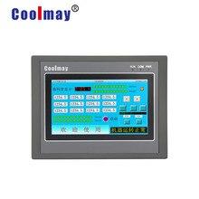 Coolmay MX2N-43HB-24MT 4,3 ''controlador inteligente programable plc con panel táctil hmi integrado