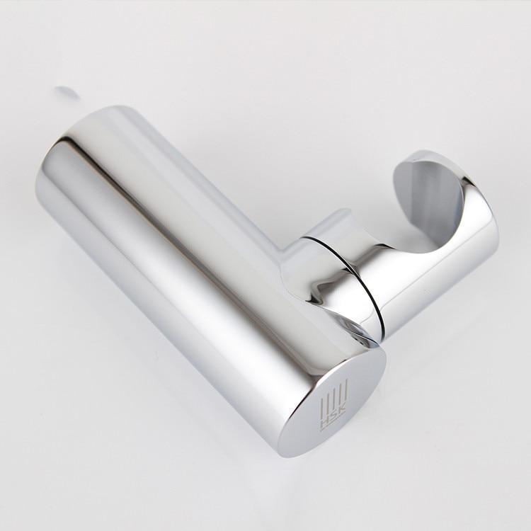 NEW Brass Chrome Handheld Shower Head Holder Bathroom Wall Mounted Bracket Angle Adjustable 03-012