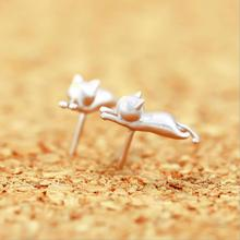Everoyal Trendy Silver Animal Stud Earrings For Girls Accessories Fashion 925 Sterling Silver Earrin