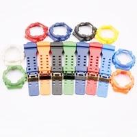 watch accessories resin strap for casio g shock ga gdgls 100 110 120 men and women sports waterproof case black buckle