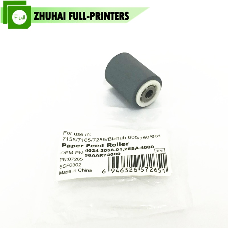5X 56AAR72000 4024-2058-01 BH600 de alimentación de papel de la camioneta de Konica Minolta para K7155 7165 7255 Bizhub 600, 601, 750, 751 Di650