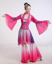 Femme chinois danse classique vêtements Hanfu broderie ancienne danse costume fée poétique ventilateur/tambour/parapluie danse costumes