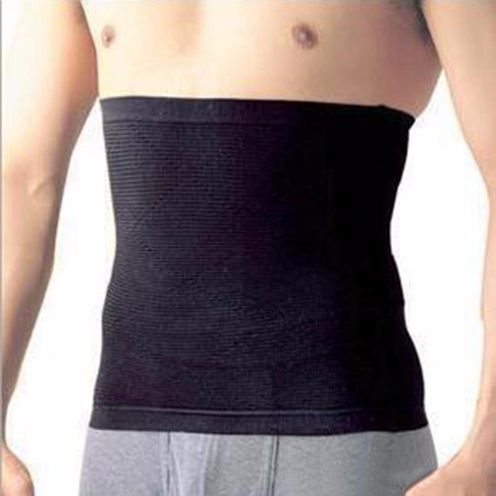 Los hombres con estilo hombre Cincher de la cintura de adelgazamiento entrenamiento corporal cinturón de ejercicio corsé Ceñidor de estómago modificadores cuerpo