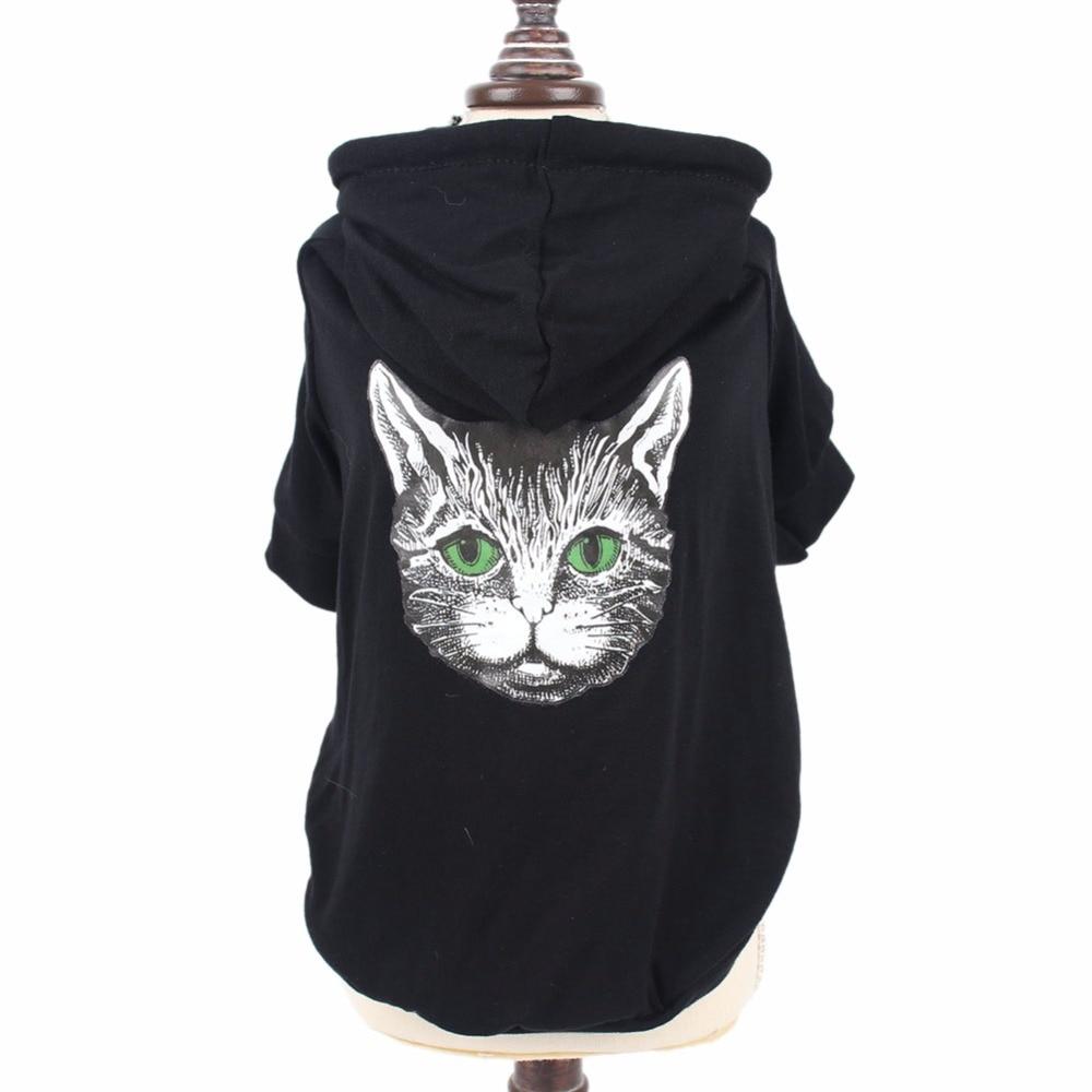 Ropa para gatos pequeños, ropa para mascotas, Sudadera con capucha para perros, ropa para perros, abrigos de cachorro de Yorkshire, cuccia gatto kedi