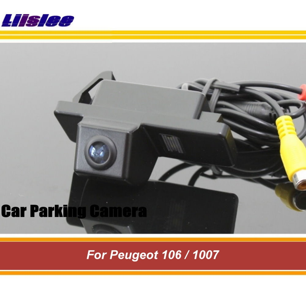 7in lcd portable car analog tv television 20hz 20khz pal ntsc secam hd car tv tuner fm radio txt reader tv Auto Integrated Rear View Camera For Peugeot 106/1007 Car Back Up Parking CAM TV HD CCD NTSC PAL