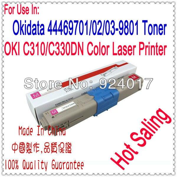 Para Oki MC561DN MC562DN MC562DNW MC562dn MC562dnw MC562w C511dn C531dn cartucho de tóner para Oki C510 C511 C530 C531 Toner recarga