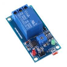 Module de résistance photosensible Stable 12V   Module relais de contrôle de capteur lumineux commutateur de résistance photosensible LDR