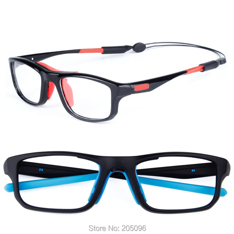 SL013 TR90 sporting prescription glasses light weight sport eyeglasses with adjustable anti-slip str