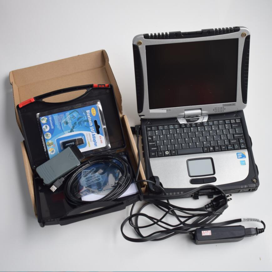 Vas 5054a original bluetooth Chip completo uds oki ODIS 5,13 ingeniero Software elsawin 6,0/5,3 hdd 500gb portátil cf19 diagnosticar