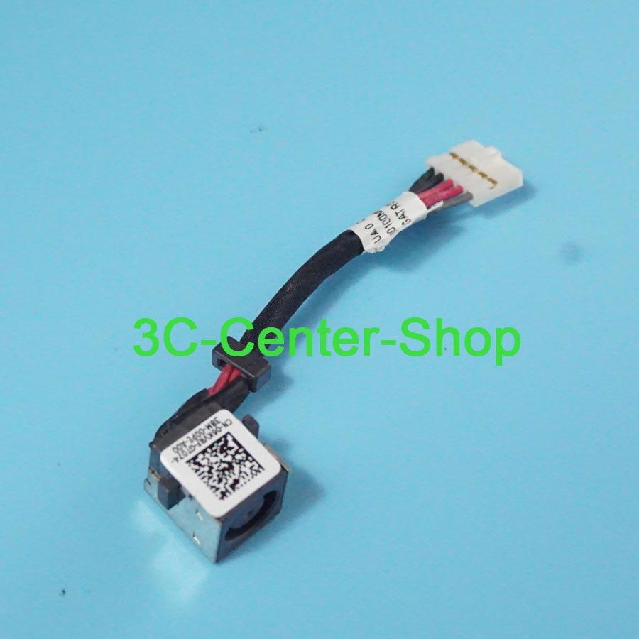 1 piezas DC conector Jack para DELL Latitude E7440 E7450 DC30100MF00 06 KVRF 6 KVRF Jack de alimentación DC enchufe cable