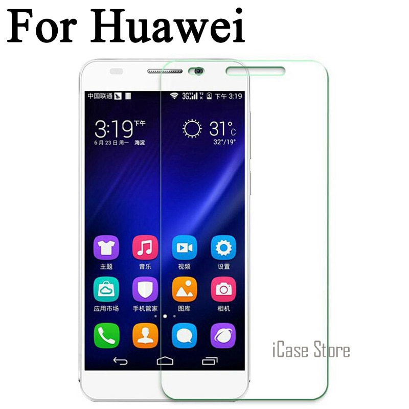 Templado de vidrio para Huawei Y6 Pro Y6 II Honor 4C 4X4...