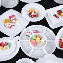 33 sztuk/zestaw nowo lalki zabawki kuchnia obiad Mini zastawa stołowa miniatury szklanki płyta danie wystrój dzieci zabawki kuchenne zestaw zabawek